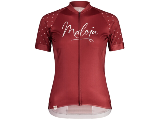 Maloja ArgoviaM. 1/2 Shortsleeve Bike Jersey Women red monk